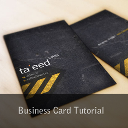business card tutorial