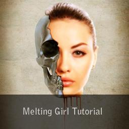 melting girl tutorial
