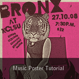 music poster tutorial