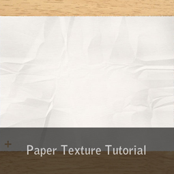 paper texture tutorial
