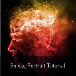 smoke portrait tutorial