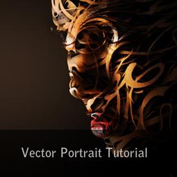 vector portrait tutorial